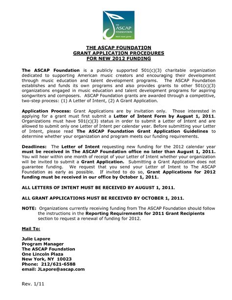 nih grant cover letter nih cover letter sle of acknowledgement in