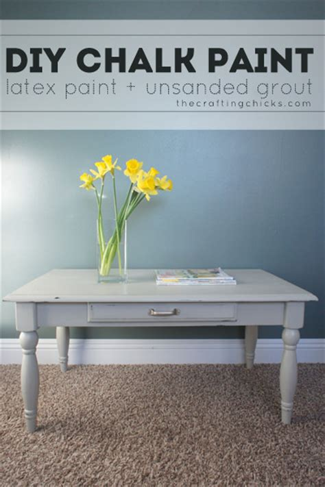 diy chalk paint using grout chalk paint furniture projects the budget decorator