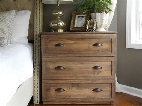 bedroom dressers ikea how to turn a 35 ikea dresser into a high end vintage nightstand nightstands hardware and
