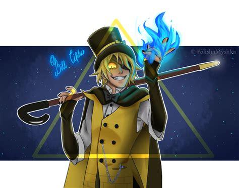 bill cipher anime bill cipher by polishamyshka on deviantart