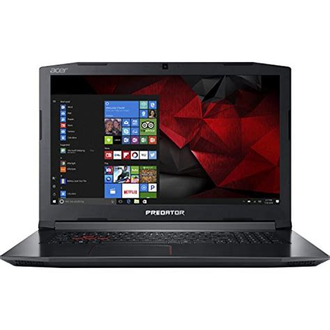 Hp Acer Gaming acer predator helios 300 17 3 quot hd gaming laptop 7th intel i7 7700hq processor up