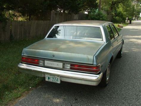 buick skylark 1985 find used 1985 buick skylark custom sedan 4 door 2 8l in