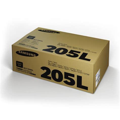 Toner Samsung Ml toner samsung original mlt d205l black impressora laser
