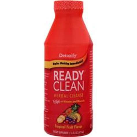 Ready Clean Detox Drink Reviews by Detoxify Ready Clean Herbal Cleanse On Sale At