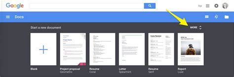 google docs template gallery best business template