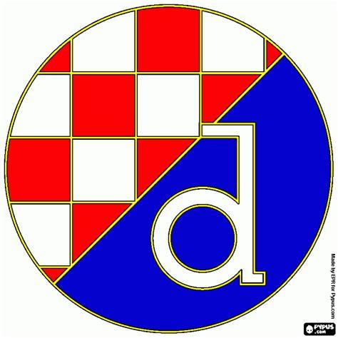 NK Dinamo Zagre coloring page, printable NK Dinamo Zagre