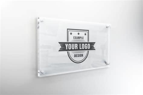 Interior Glass Sign Mockup Template Mediamodifier Free Online Mockup Generator Sign Mockup Template
