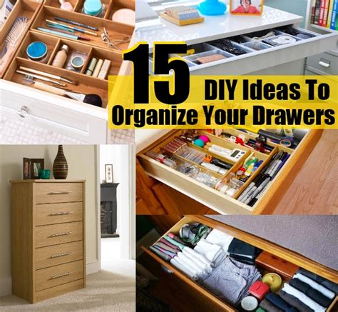 top 15 exclusive diy ideas to organize your drawers diy