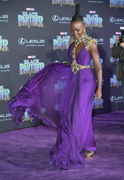 lupita nyongo  women  black panther  royal attire