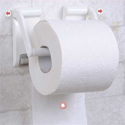 magnetic toilet paper holder adjustable magnetictoilet kitchen roll paper towel holders