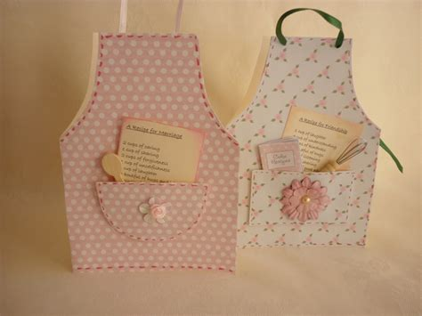 template for apron card mementoes in time mementoes in time