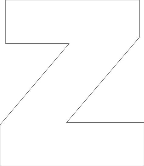 letter z template 17 best images about letter z on the alphabet
