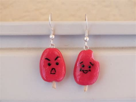 how to make jewelry out of clay polymer clay popsicle earrings 183 how to make a pair of