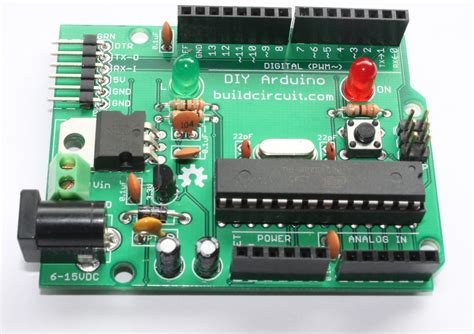 build circuit diy arduino kit how to make your own arduino uno build