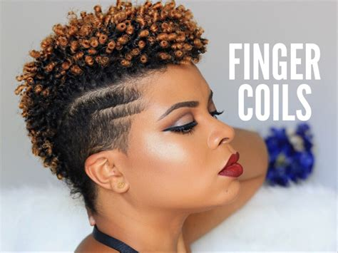 coil curls weabe hairdos for black women only 10 vloggers you should follow with short natural hair
