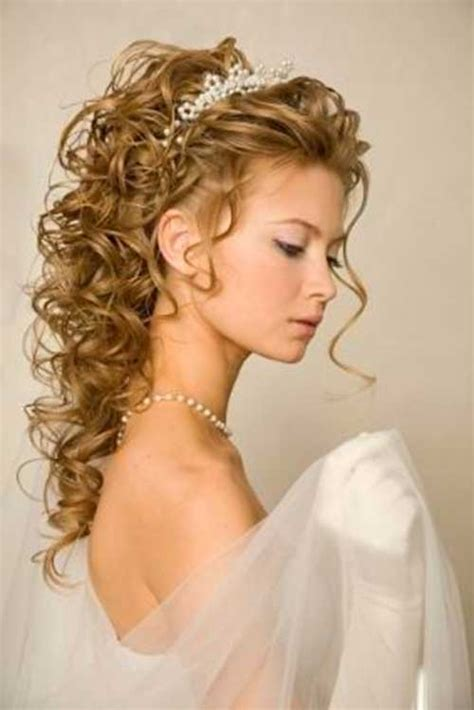 Wedding Hairstyles Curly Medium Length Hair by Hairstyles For Weddings Hairstyles 2016 2017