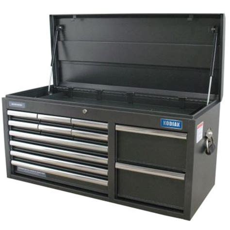 wen 41 in 12 drawer tool chest powdercoat black 74512