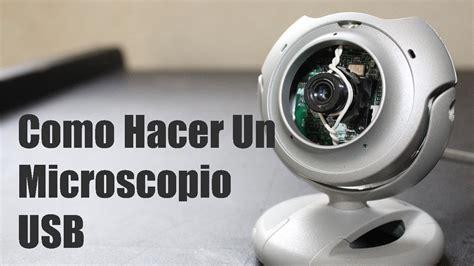 camara web para hacer videos como hacer un microscopio con una web cam doovi