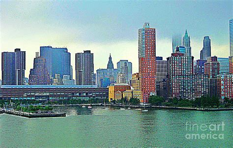 new york city landscape photograph by judy palkimas