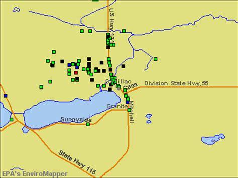Chemical Bank Cadillac Mi by Cadillac Michigan Mi 49601 Profile Population Maps