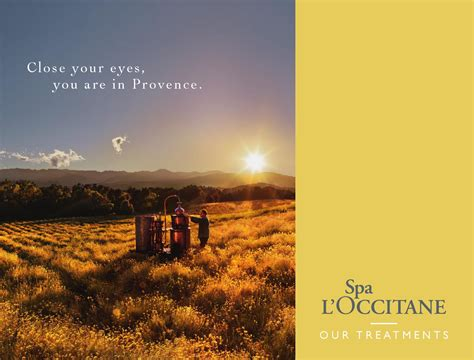 L Occitane l occitane spa brochure by l occitane en provence issuu