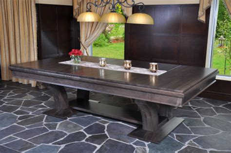kitchen table converts pool table dining conversion tables robertson billiards