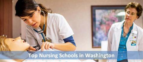 Top Nursing Schools by Top Nursing Schools In Washington 2018 19 2020