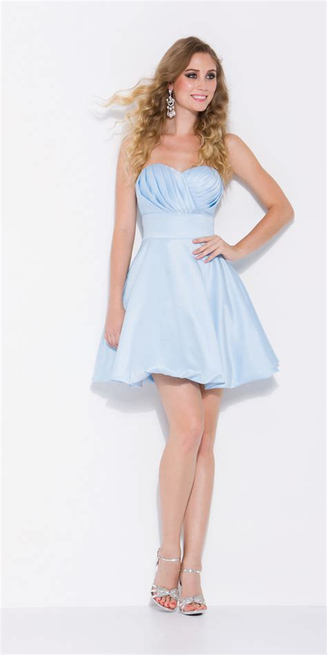 Short Light Blue Dress by Light Blue Short Bridesmaid Dresses