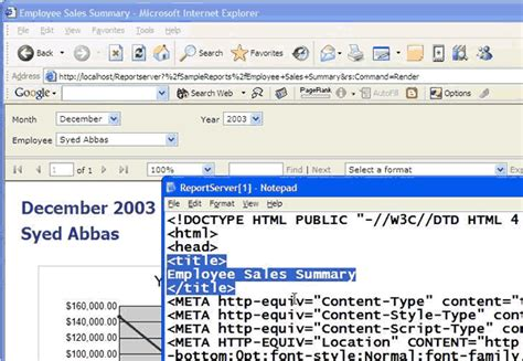 Html Table Title Ssw Microsoft Sql Reporting Services Suggestions
