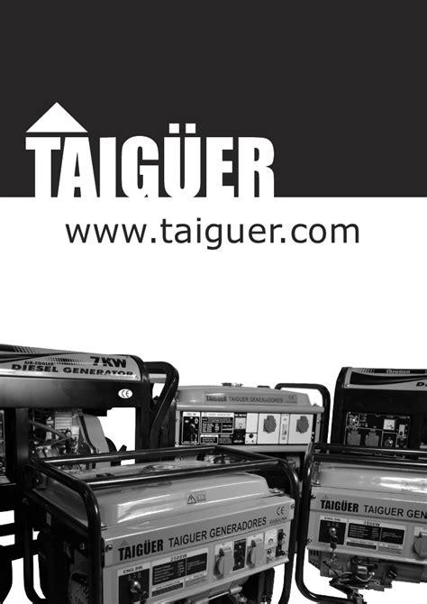 Catálogo Taigüer generadores
