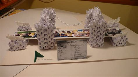 How To Make An Origami Bridge - szechenyi chain bridge origami by jennapotter on deviantart