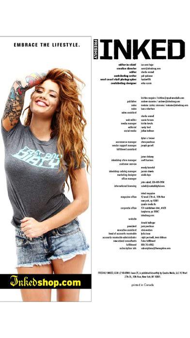 tattoo magazine app freshly inked magazine apppicker