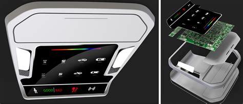 design hmi overhead console design cost target