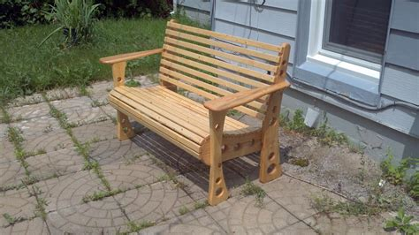 How To Make A Wooden Bench With Back Pdf Woodworking