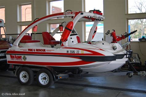 sonic jet rescue boat indiana fire trucks fire and ems apparatus pictures