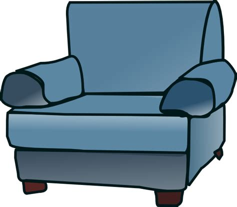 Clipart Armchair by Loveseat Clip At Clker Vector Clip Royalty Free Domain
