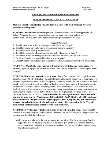 Topics For College Research Papers by To Write A Research Paper Resume Writing Services