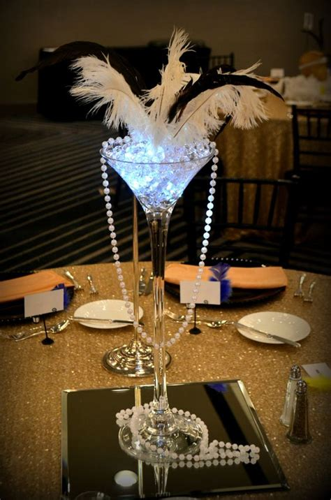 great gatsby prom centerpieces www imgkid the