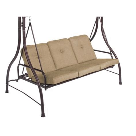 patio swing cushion replacement patio swing replacement cushion america s best lifechangers