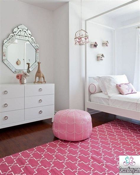 pink rug for room 30 feminine bedroom ideas for decorationy