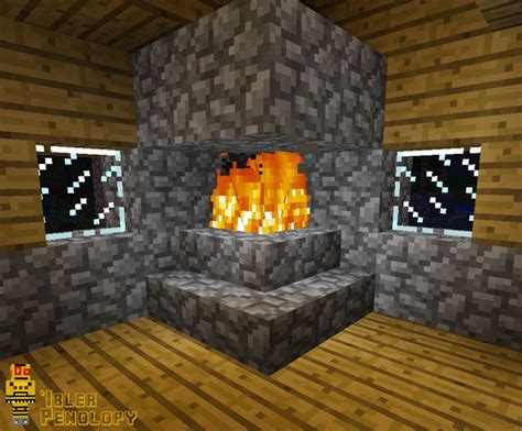 Put A Fireplace In Your House by How To Make A Fireplace That Won T Burn Your House In Minecraft All