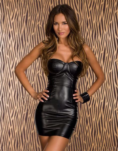 hot ladies fashion lovely ladies in leather miscellaneous leather 22