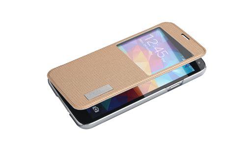 Imak Flip Leather Cover Series Samsung Galaxy S5 G900 black rock series side flip leather for samsung galaxy s5 18900