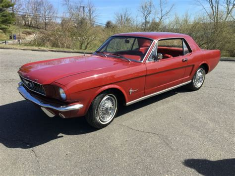 classic 1965 mustang 2 door coupe 200 c i 6 cylinder c4
