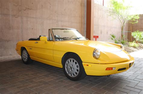 1993 Alfa Romeo Spider by Classic Italian Cars For Sale 187 Archive 187 1993 Alfa