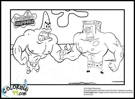 coloring pages spongebob and patrick spongebob coloring pages minister coloring