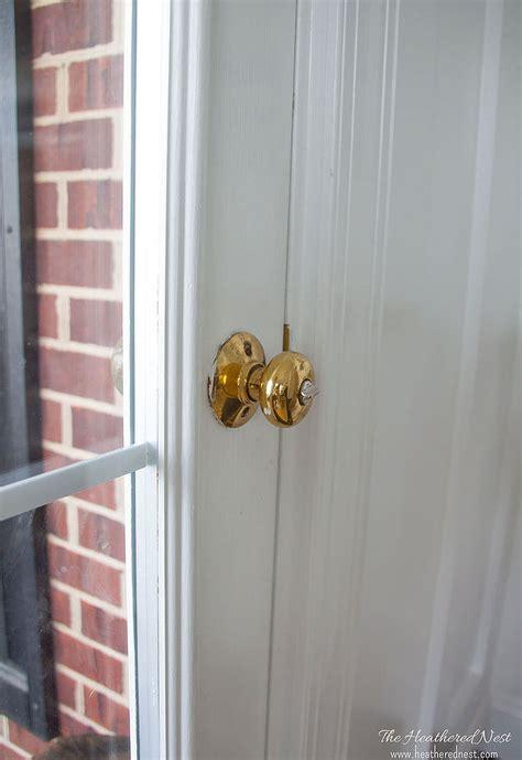painting door knobs hometalk