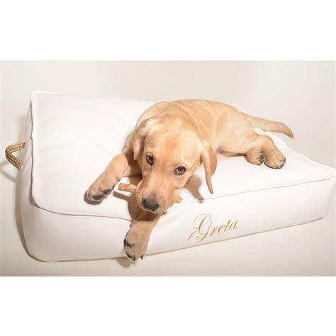 cuscino per cani cuscino per cani rivestito in ecopelle cloud per interni