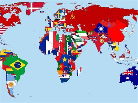 papeis de parede mapa  mundo em  bandeiras paises