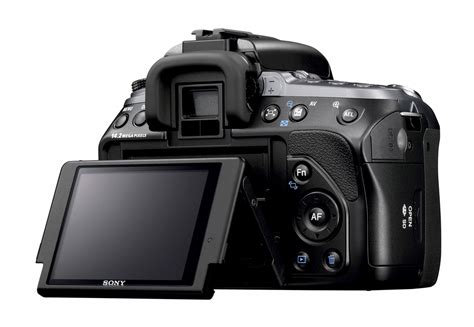 Kamera Dslr Sony A550 anmeldelse sony dslr a550 mydigitalphotos dk